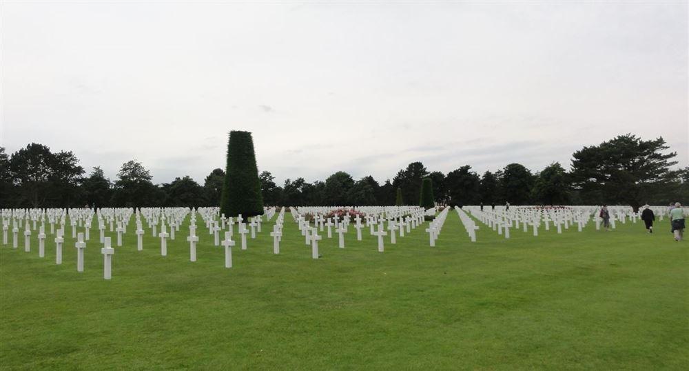 Le cimetière américain