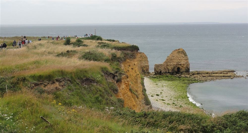 Overview of the pointe du Hoc