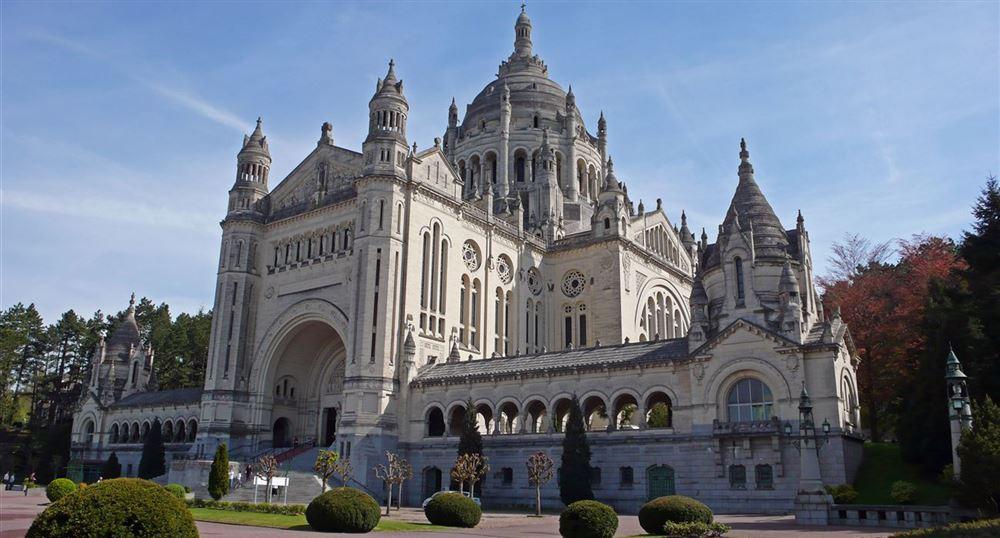 Vue d'ensemble de la basilique