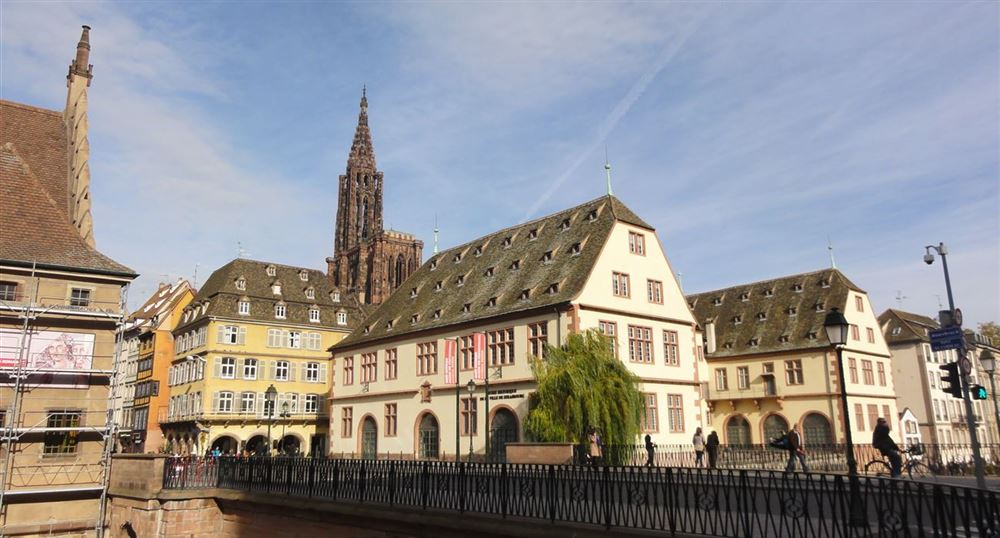 The historical Museum of the city of Strasbourg