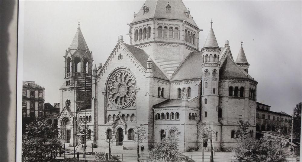 L'ancienne synagogue de Strasbourg