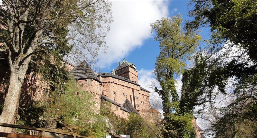 L'extérieur du château