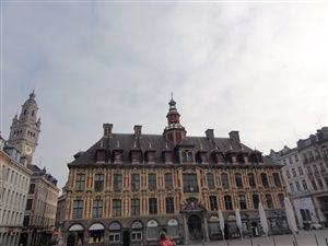 Visit in the centre of Lille.
