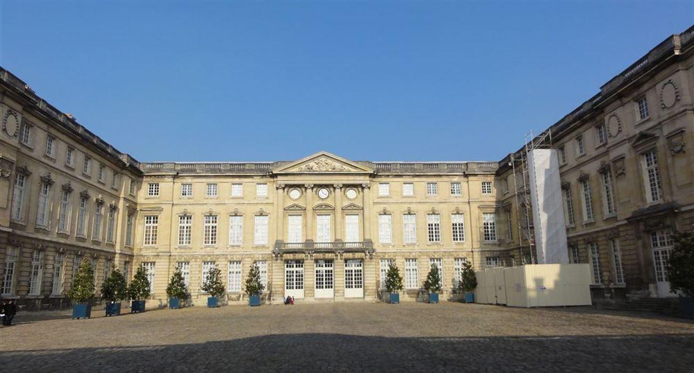 Entrance of the Château de Compiègne