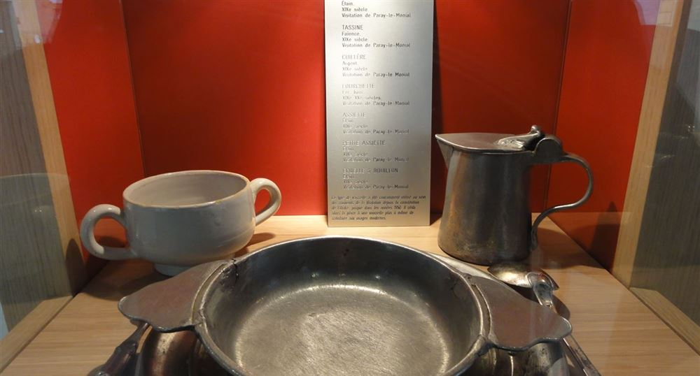 Dishes used at the convent
