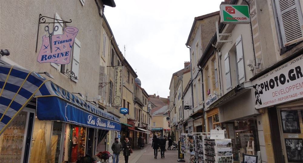 Centre of Paray-le-Monial