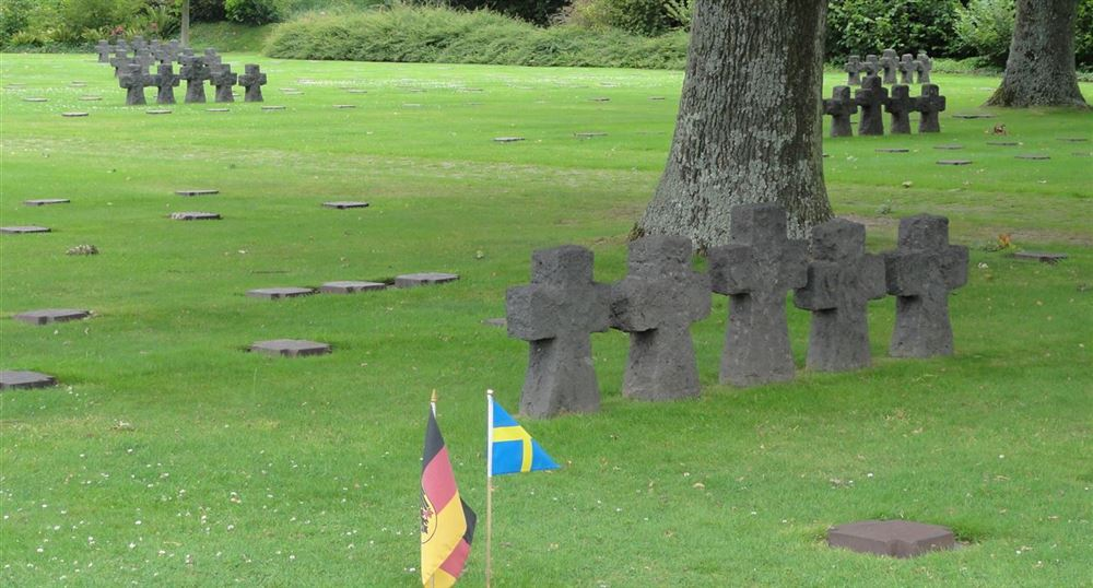 German cemetery of La Cambe