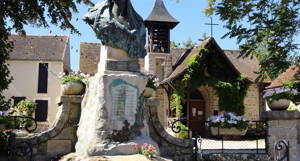 L'église de Barbizon