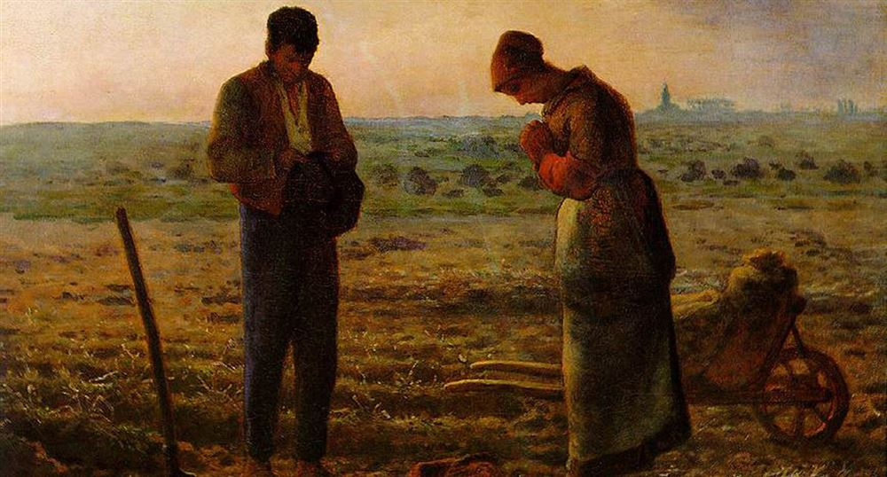 The angelus of Millet