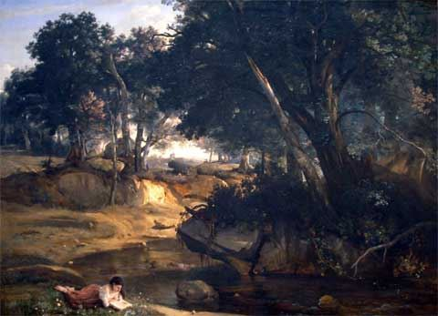 Corot, forest of Fontainebleau