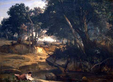 Corot, Forêt de Fontainebleau