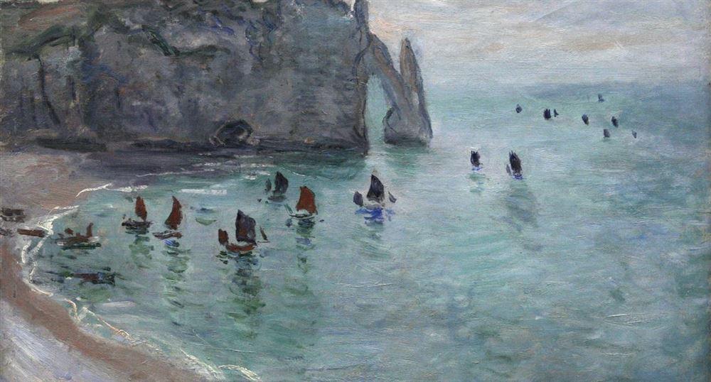 Monet et Etretat