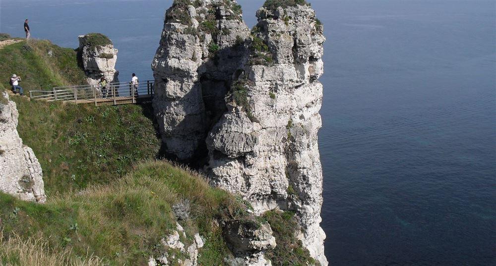 Walk on the cliffs