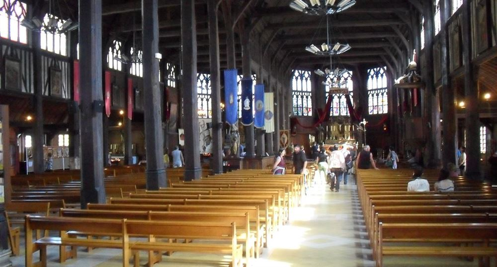 The Interior of the St. Catherine Church