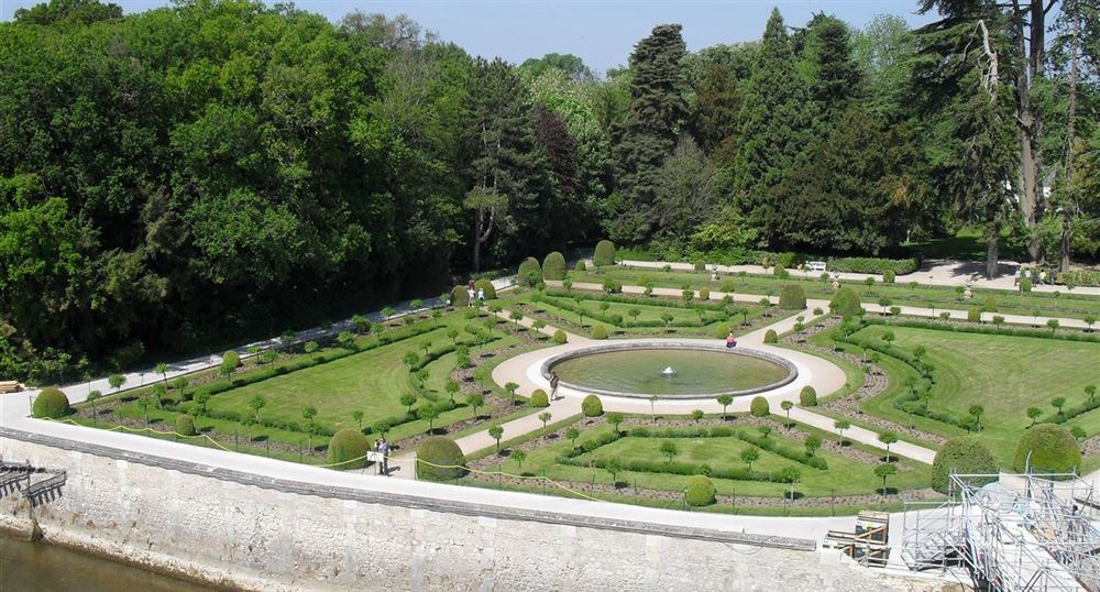 The gardens of Chenonceau