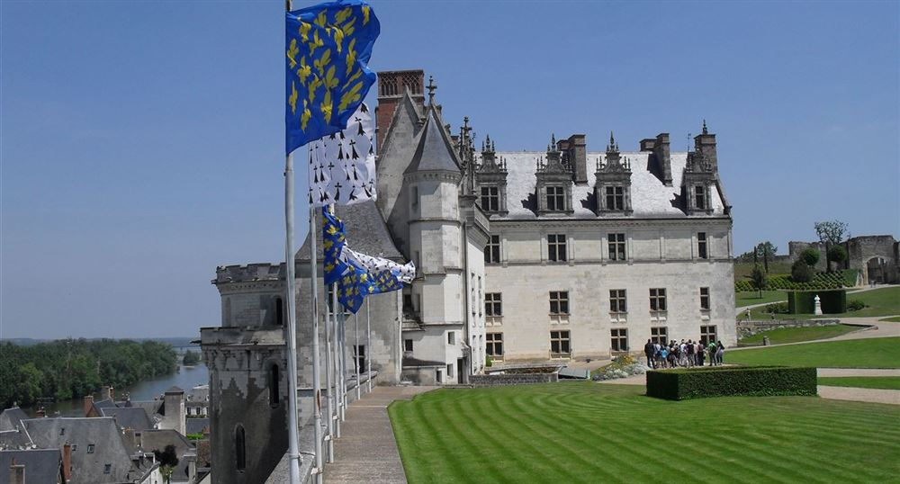 The castle of Amboise