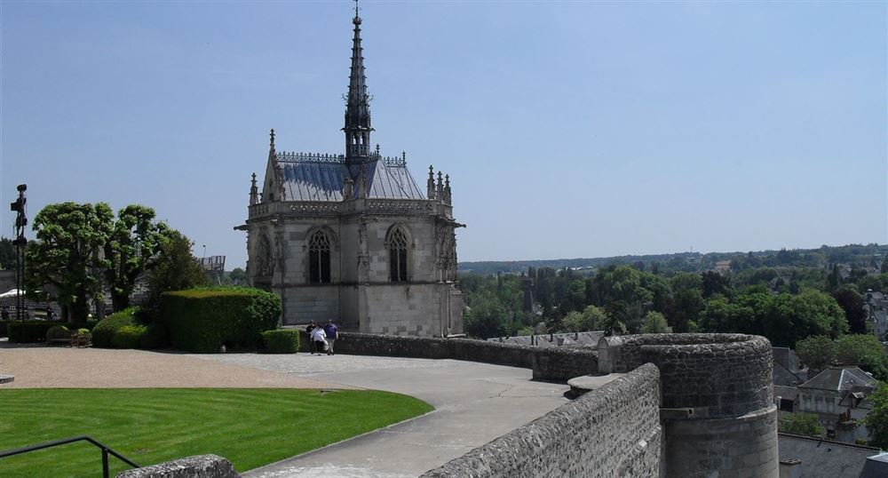 The chapel of the castle of Amboise