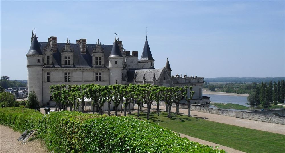 The gardens of the Château of Amboise