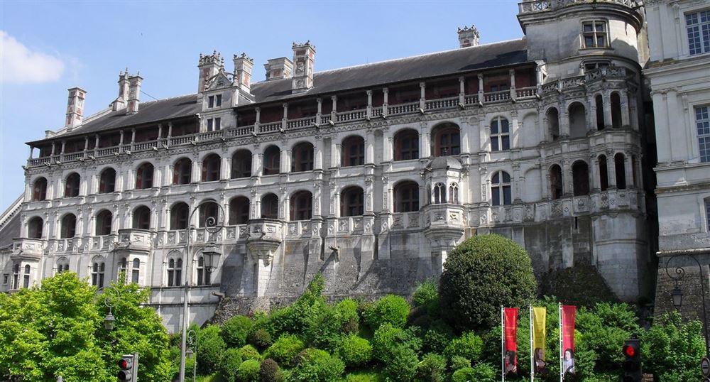 The castle of Blois