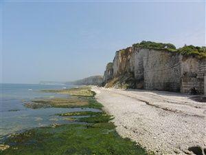 Randonnée en Normandie entre Yport et Fécamp