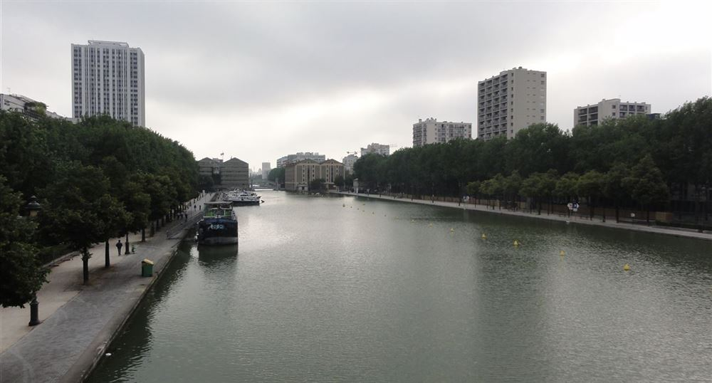 The Villette basin