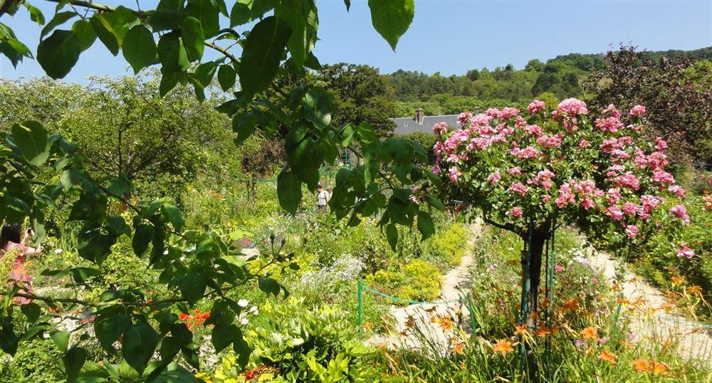 Le jardin de la maison de Claude Monnet