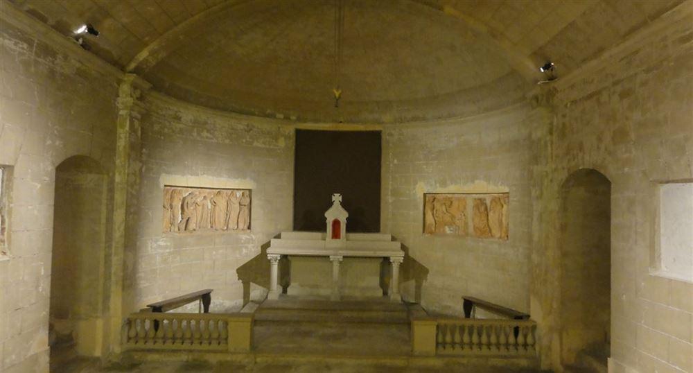 Les chapelles troglodytes