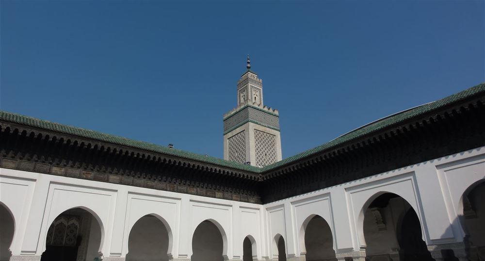 Le Grand Patio et le minaret