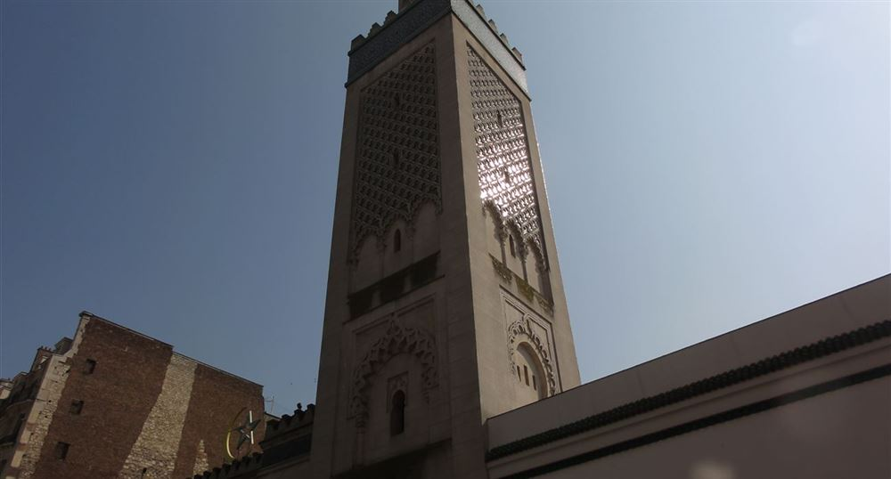 Entrée de la Mosquée de Paris