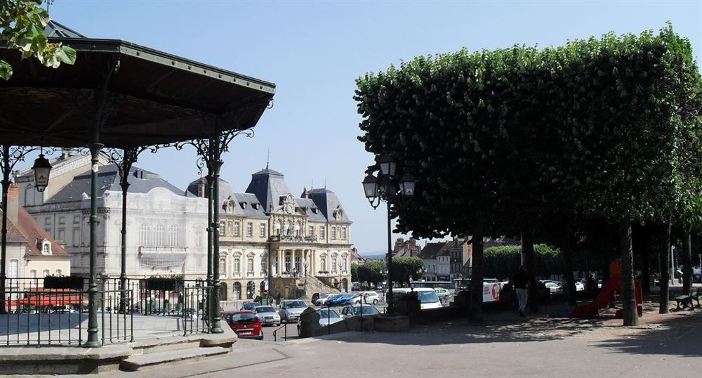 The square of the Champ de Mars