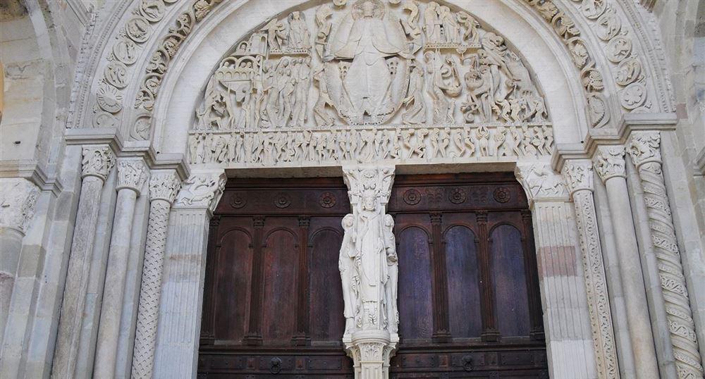 Tympan de la cathédrale