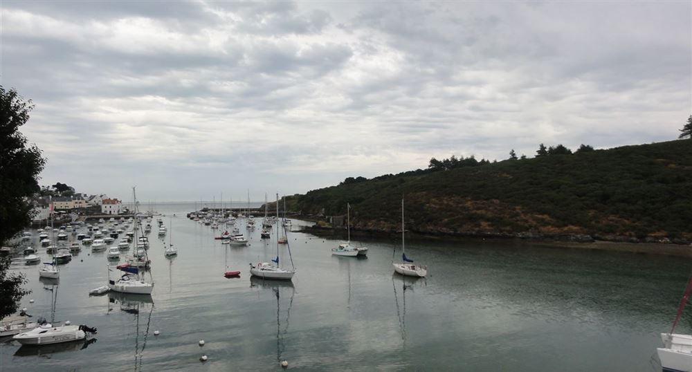 The port of Sauzon