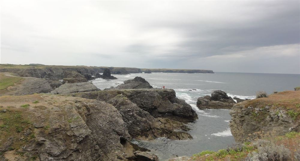 The coast of Belle-île-en-Mer