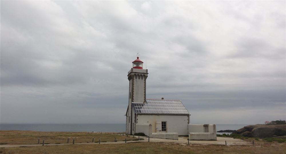 The lighthouse of the Poulains