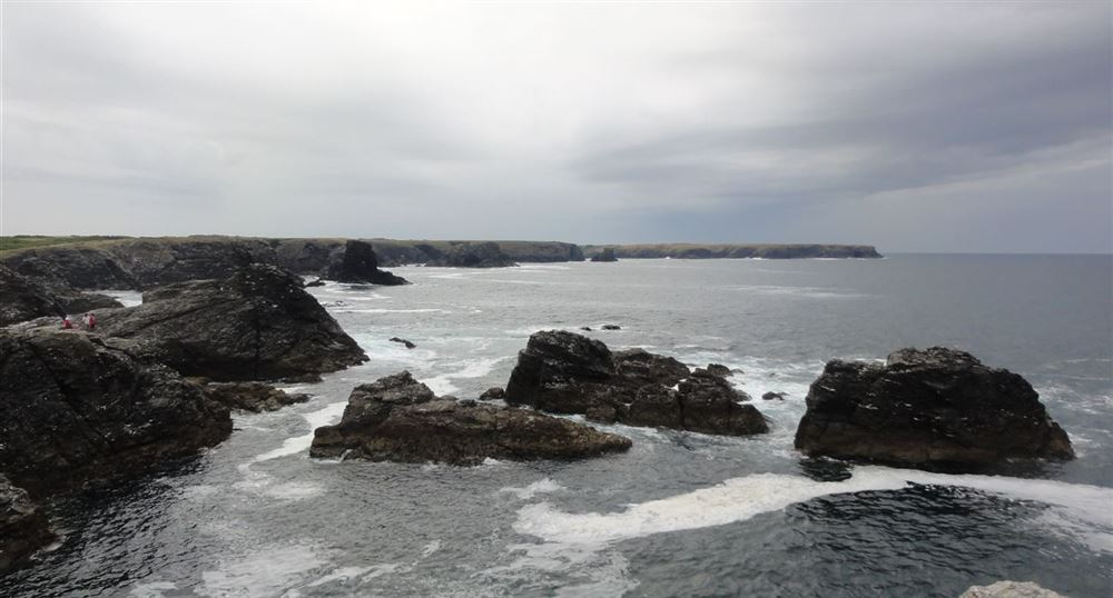 The rocks of the tip of the Poulains