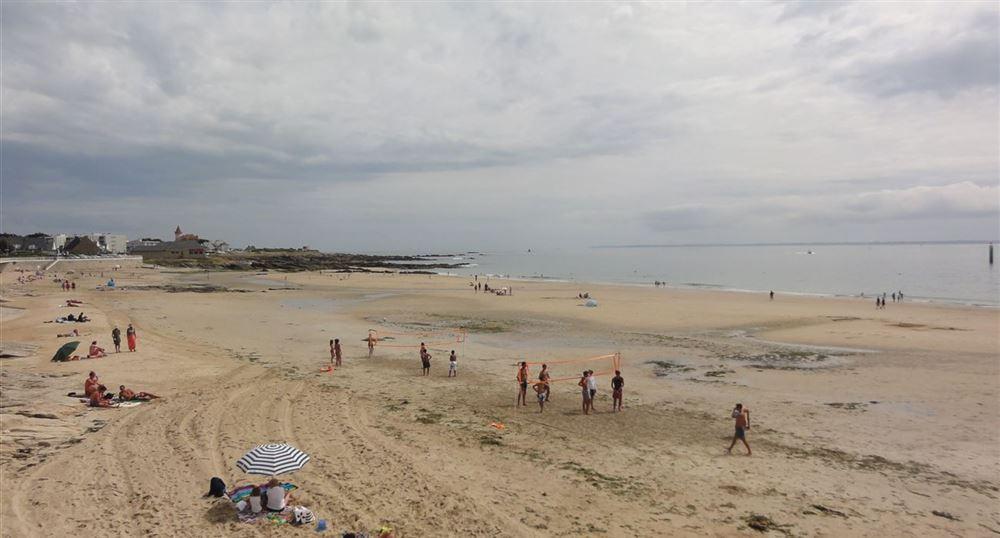 The beach of Quiberon