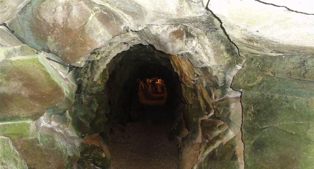 Entrée d'un souterrain