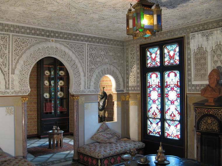 The Moorish lounge