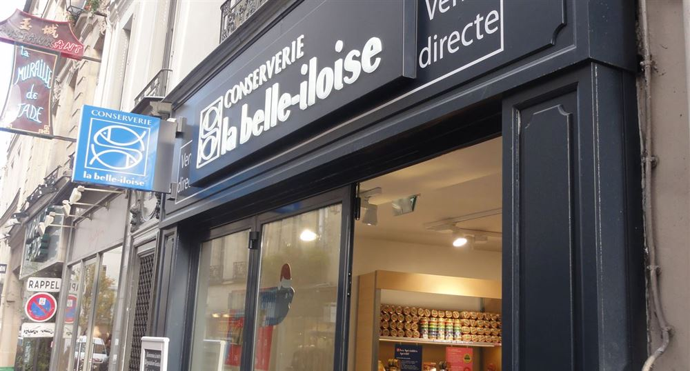 The Belle-iloise shop