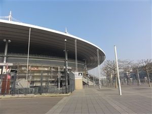 Du Stade de France à la Basilique de Saint-Denis.