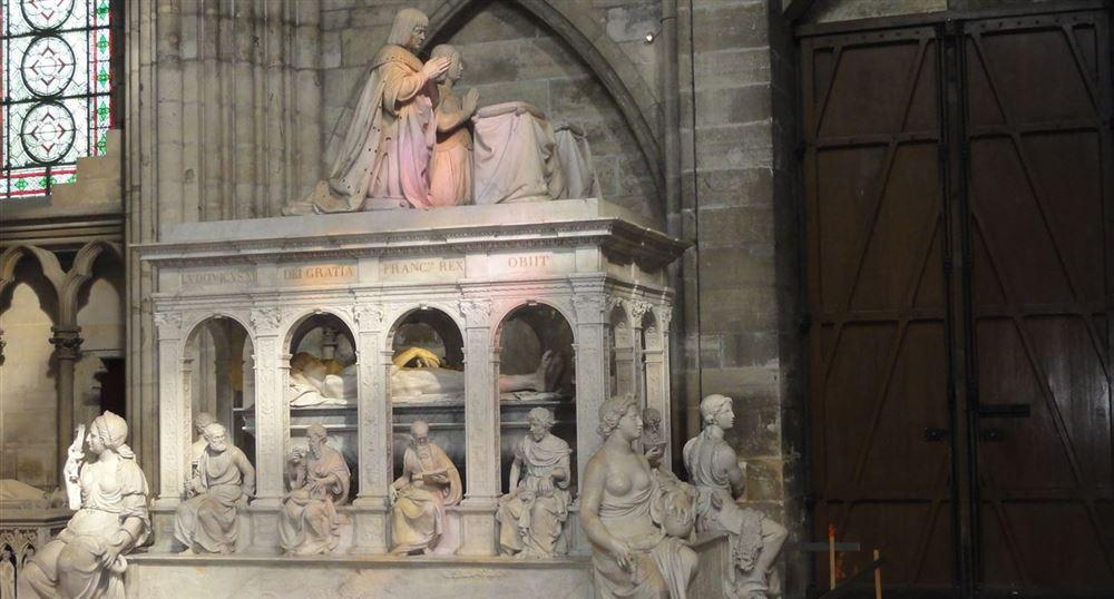 Le tombeau de Louis XII et Anne de Bretagne