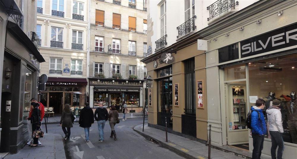 A street in the Marais