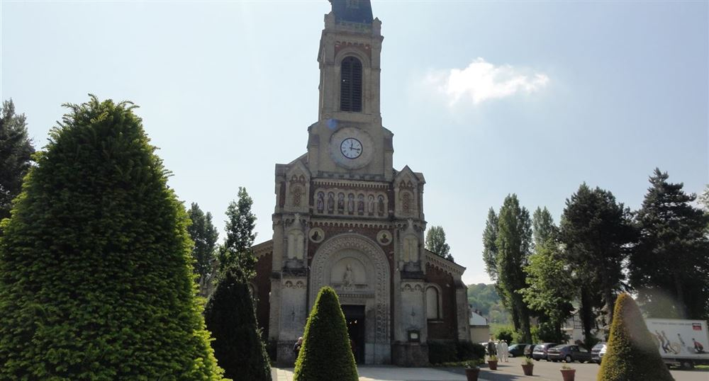 The Church of St. Augustine in Deauville