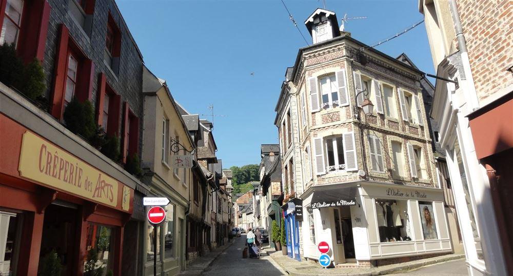 Une rue de Honfleur