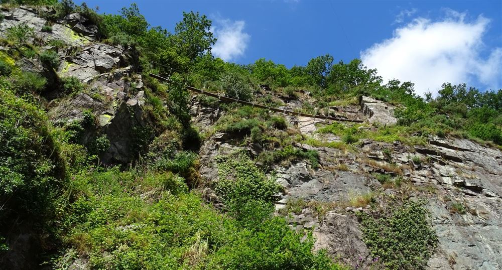 The via ferrata