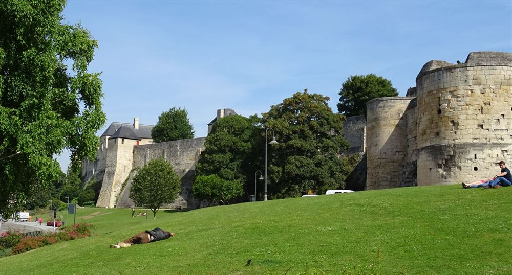 The castle of Caen