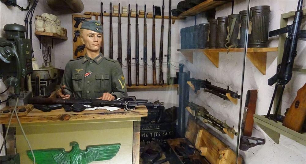 Intérieur du bunker