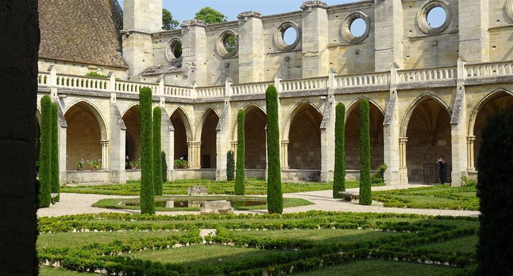The cloister gardens