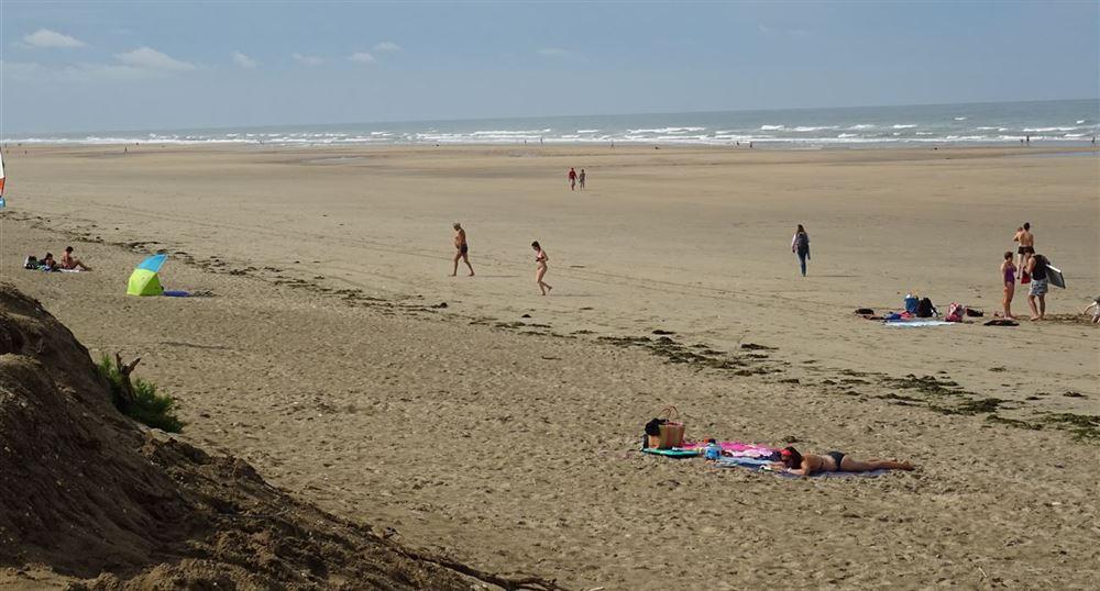 The large beach