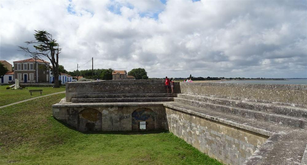Les remparts de la citadelle